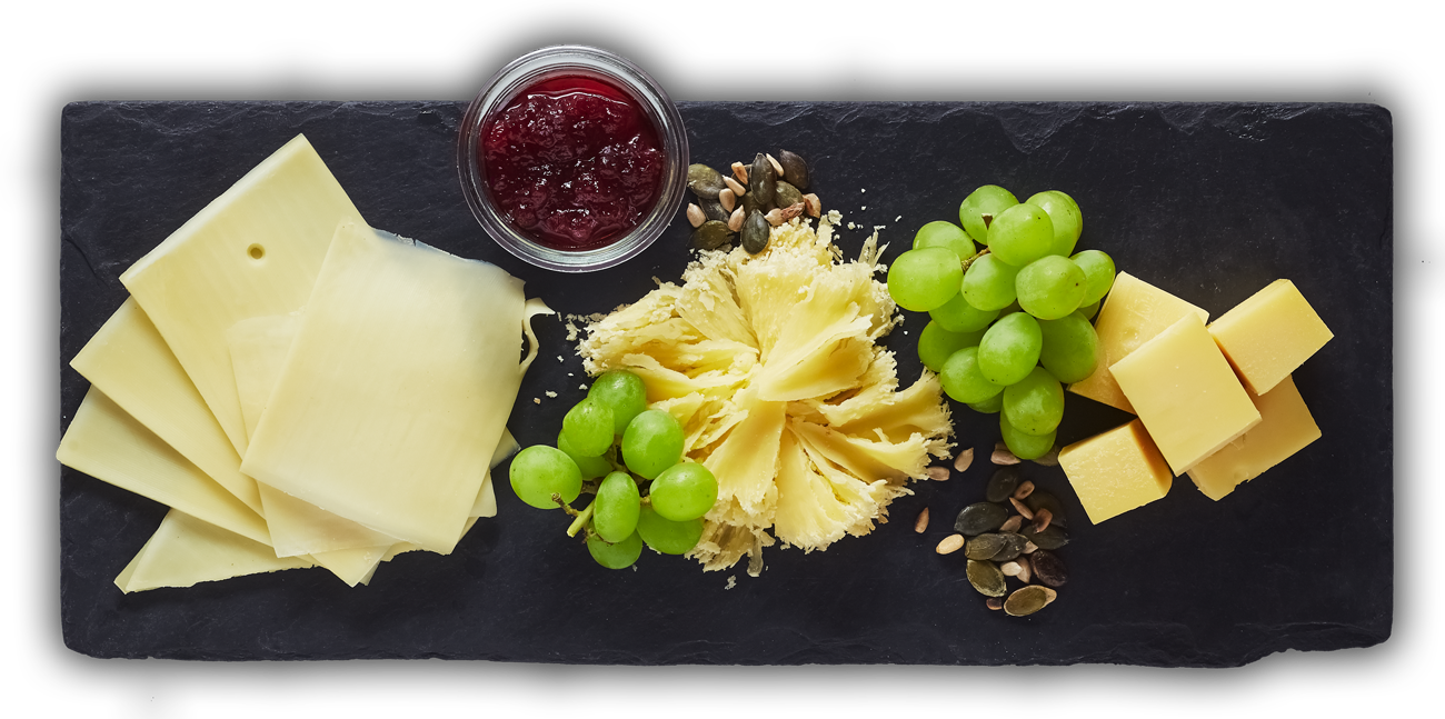 Swiss Cheese Plate